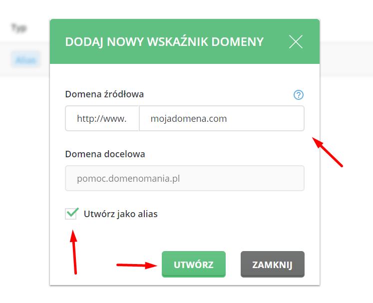 Jak zaparkować domenę internetową w DirectAdmin?