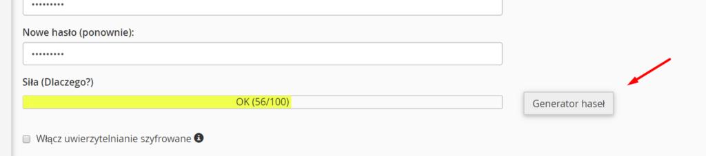 Jak zmienić hasło dostępu do cPanel?