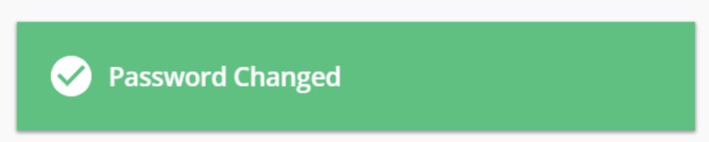 Hasło dostępu do DirectAdmin zostało zmienione. Password Changed!
