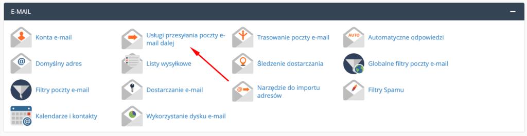 Jak ustawić przekierowanie poczty w cPanel?