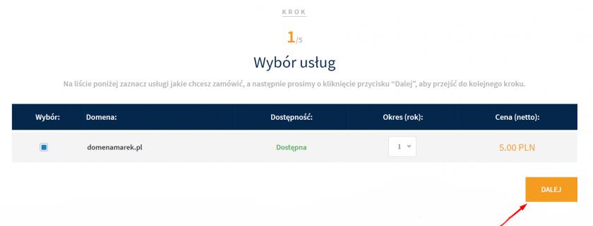 Jak zarejestrować domenę w Domenomania.pl?