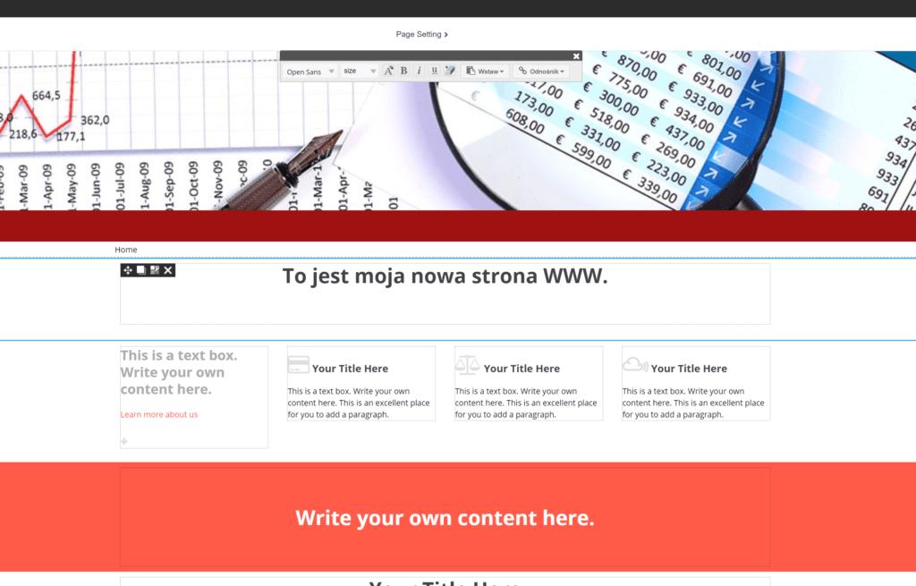 Po zakończeniu samouczka, możesz przejść do tworzenia swojej strony internetowej.