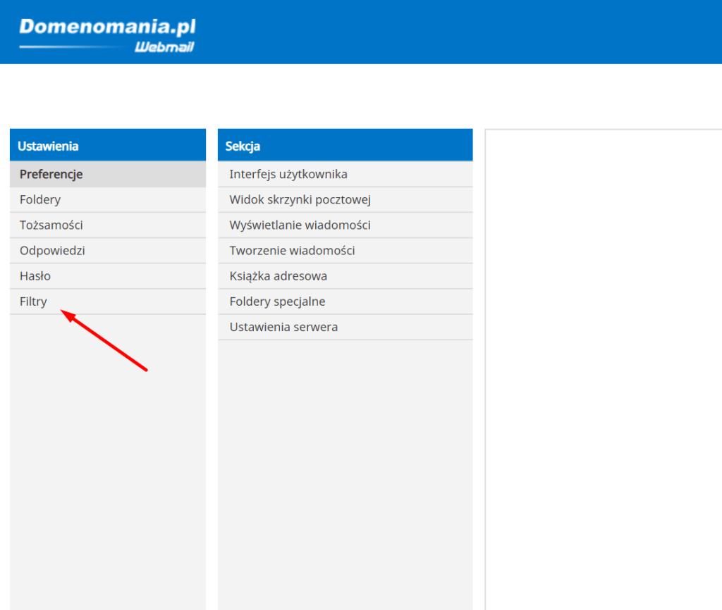 Konfiguracjaautorespondera w aplikacji Webmail