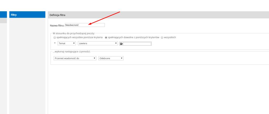 Jak skonfigurować automatyczne odpowiedzi w aplikacji Webmail?