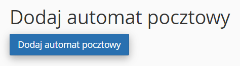 Kliknij przycisk: Dodaj automat pocztowy, aby utworzyć automatyczną odpowiedź.