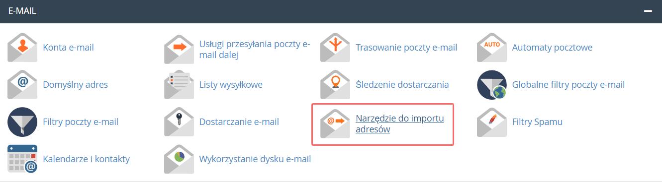Jak utworzyć wiele kont e-mail lub przekierowań w cPanel?