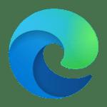 Logo przeglądarki Microsoft Edge