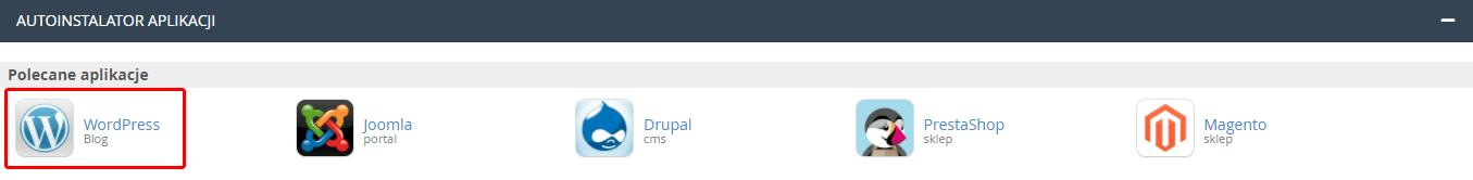 Automatyczna aktualizacja WordPress w autoinstalatorze