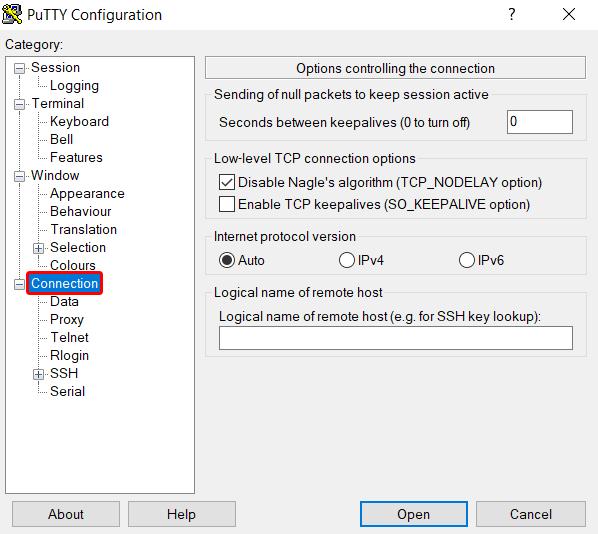 Dlaczego zrywane jest połączenie SSH?