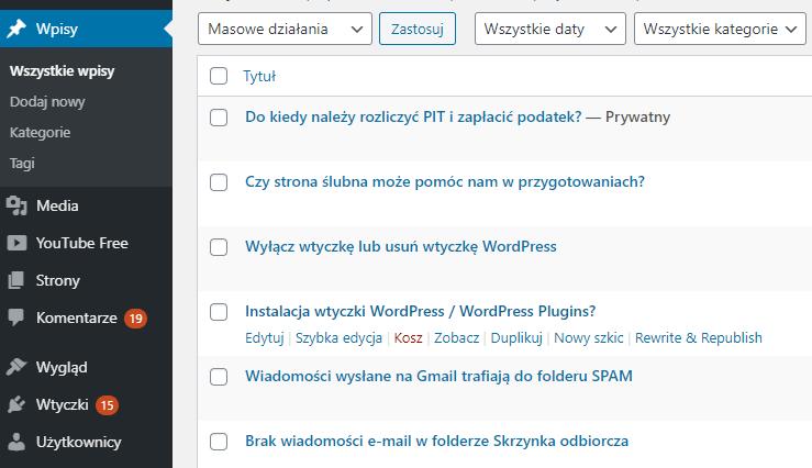 Jak wykonać kopię strony w WordPress?