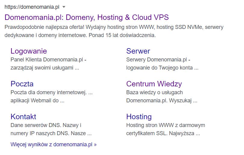 Dlaczego nie mogę znaleźć mojej strony w wyszukiwarce?