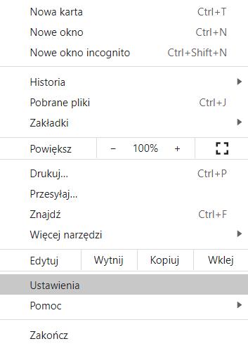Wyłączanie powiadomień w przeglądarce internetowej