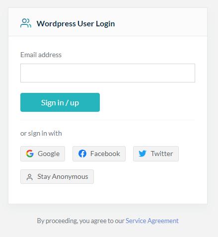 Wpisz adres e-mail w formularzu logowania